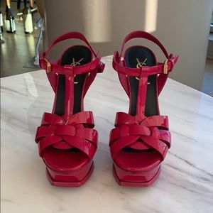100% Authentic Hot Pink Tribute Sandals